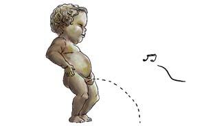 偷拍女侧所正面尿尿逼逼_女宝宝尿尿的地方红红的和感冒有关系吗?